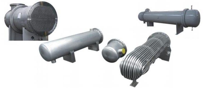 Производим трубчатые теплообменники Кожухотрубный испаритель WTK TFE 825 Подольск